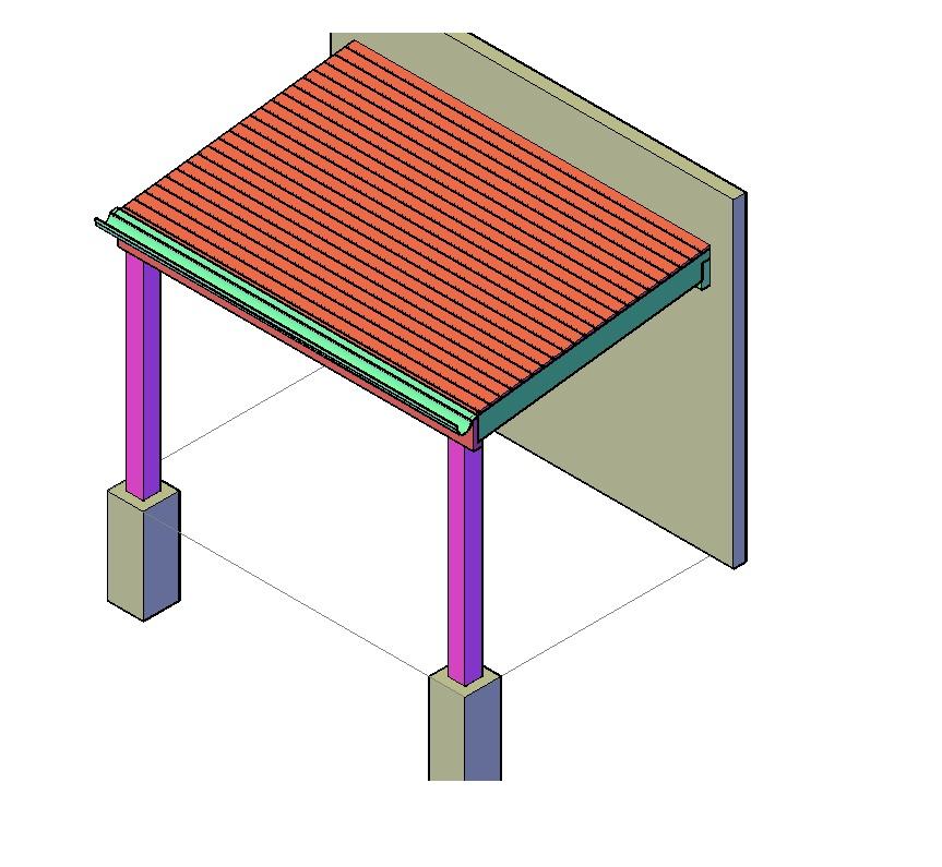 Afdak bouwtekening schuur klus tekeningen for Zelf huis bouwen kostprijs
