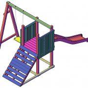 Speeltoestel bouwtekening type B