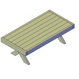 Tafel bouwtekening type I